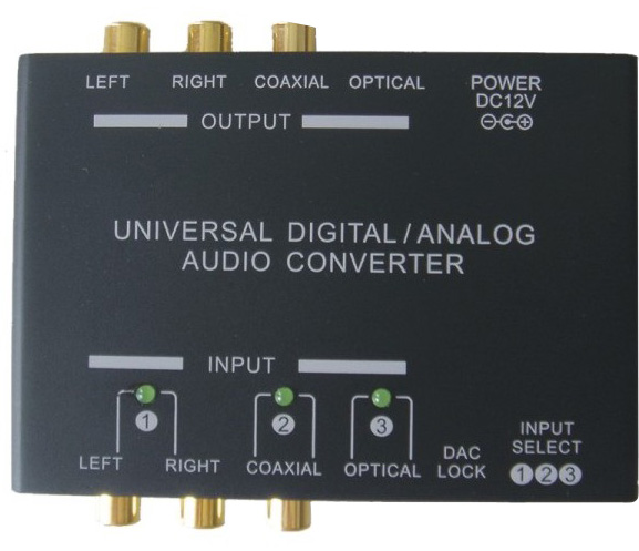 Universal Digital/Analog Audio Converter Coming Soon